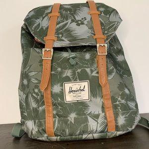 Herschel Little America floral palm backpack